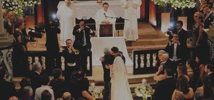 Vídeo de Cerimônias de Casamento