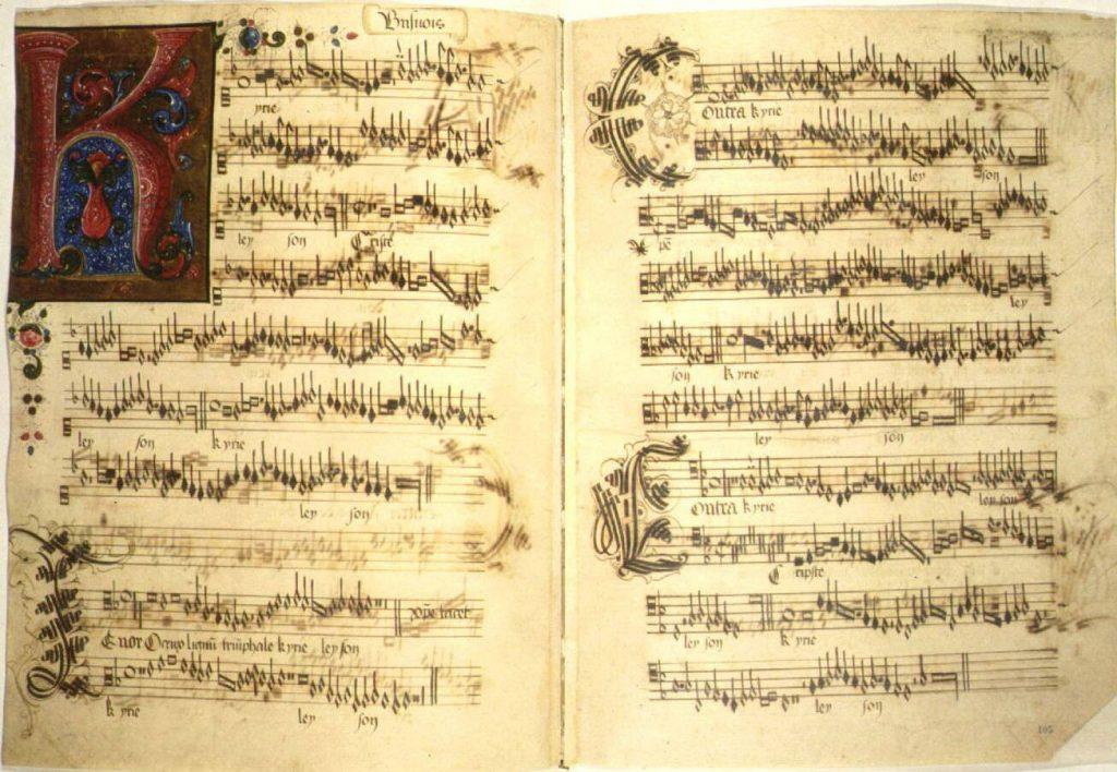 Quais momentos há música em uma missa?