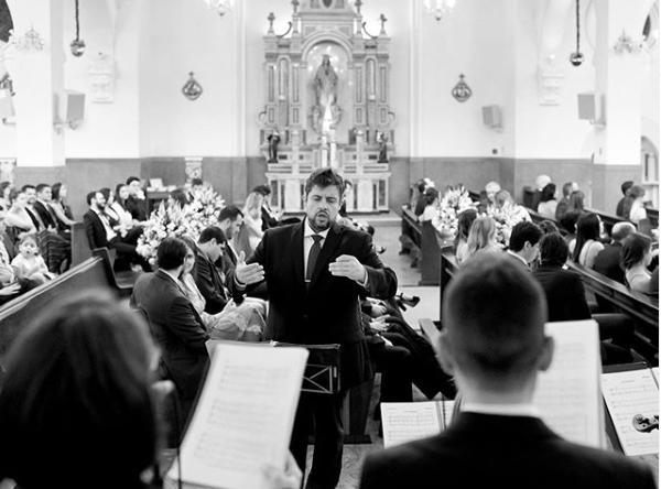 música para casamento com Del Chiaro