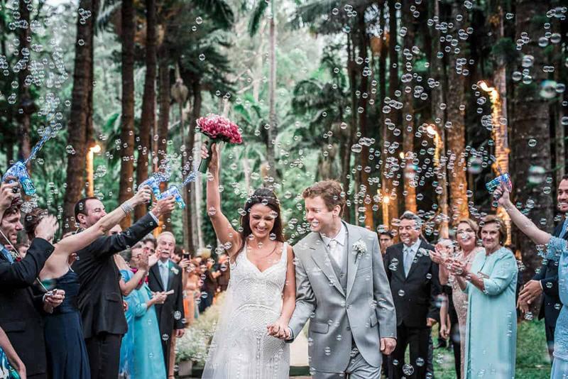 festa de casamento inesquecível