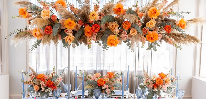 decoração laranja