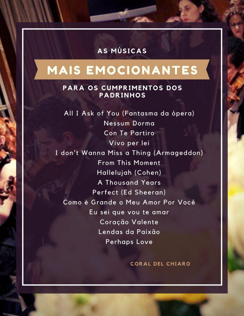 Como criar uma playlist de sucesso para a cerimonia