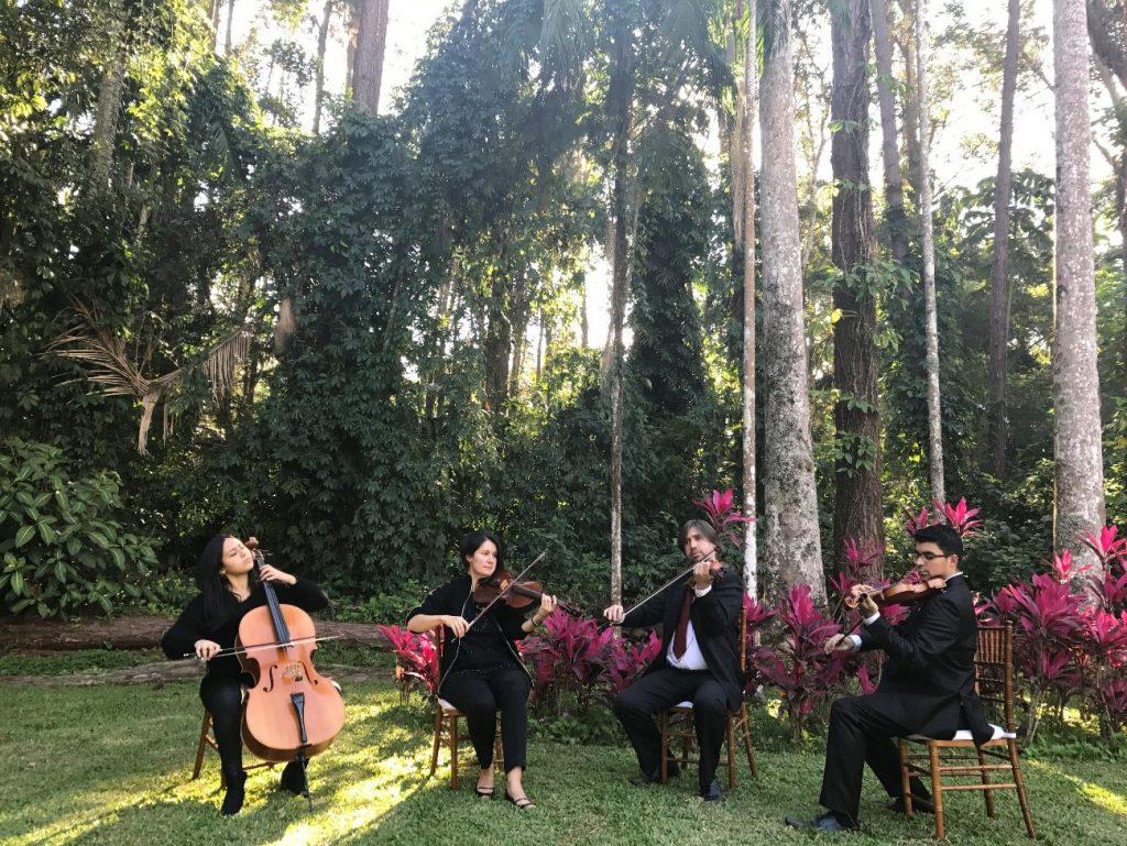 Quarteto de cordas para casamento Del Chiaro