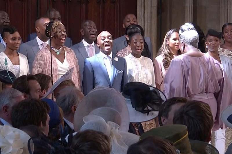 Coro Gospel Principe Harry e Meghan Markle