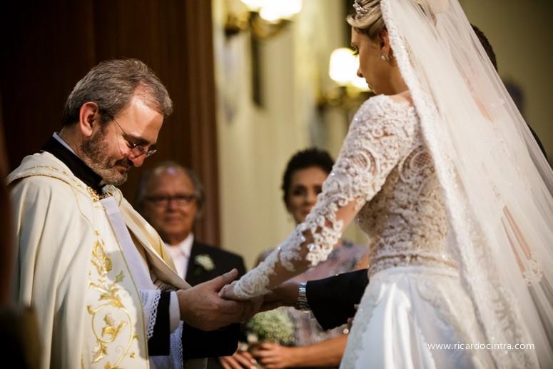 Os votos de casamento e a música