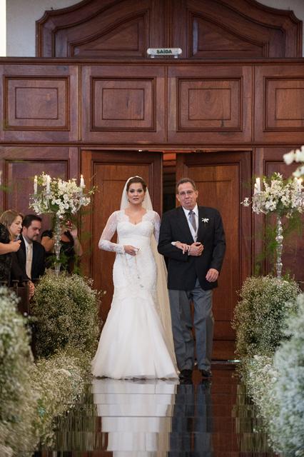 Quais os tipos de entrada da noiva?