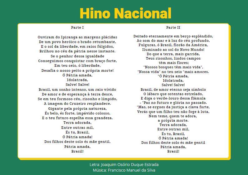 O Hino Nacional: começa a história dessa marcha triunfal!