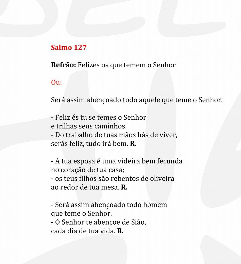 Salmo 127 para Casamento