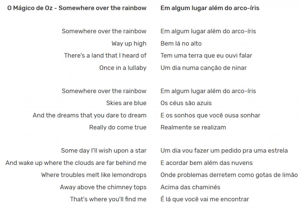 Over The Rainbow : uma música de casamento linda!