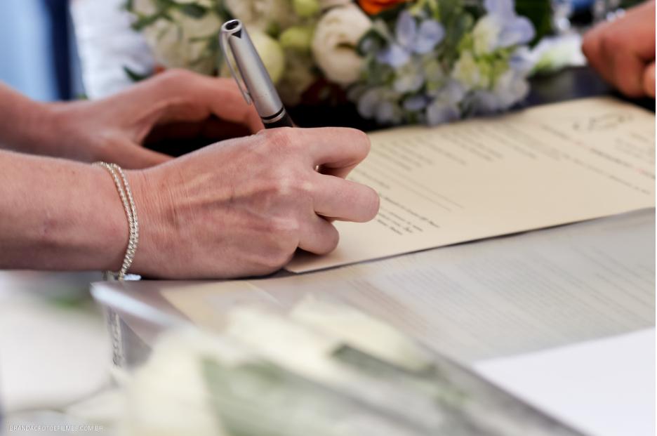 Sugestões de músicas para assinaturas no casamento